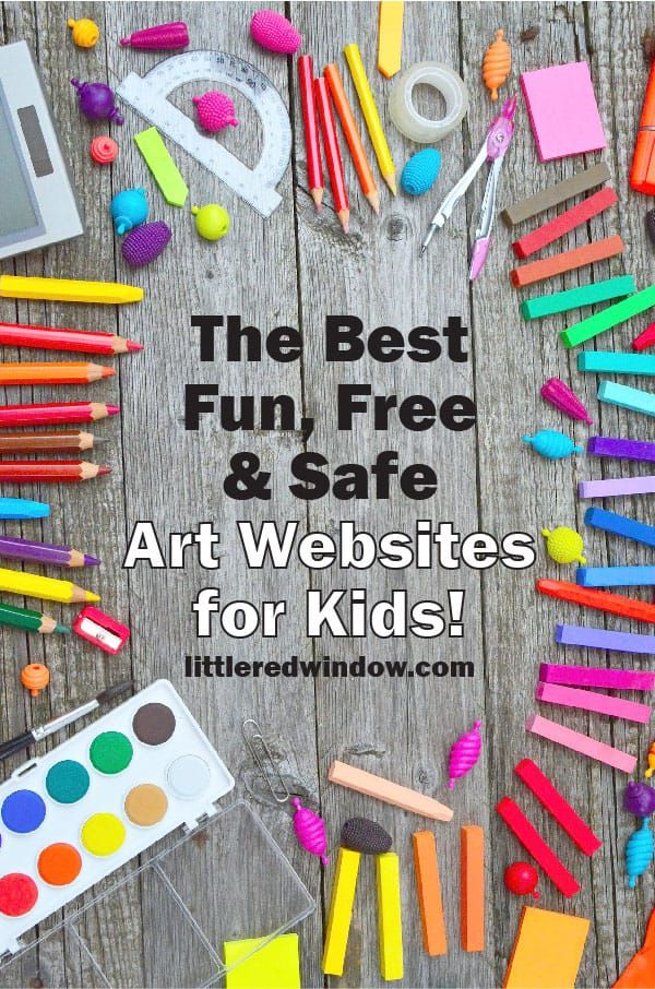 The Best Fun Free And Safe Online Art Lessons For Kids Art