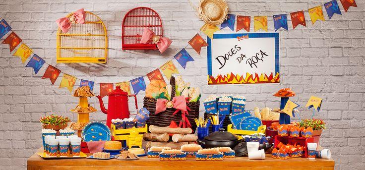 decoração cha de panela festa junina - Pesquisa Google