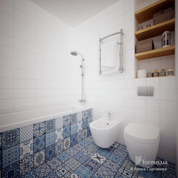 Шведский стиль, Алина Сергиенко, Ванная/Санузел, Дизайн интерьеров Formo.ua