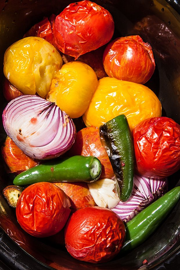 Slow Cooker Picante Salsa