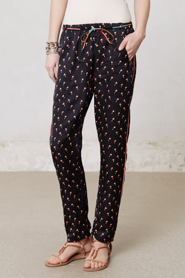 Plano Print Pants - Anthropologie.com