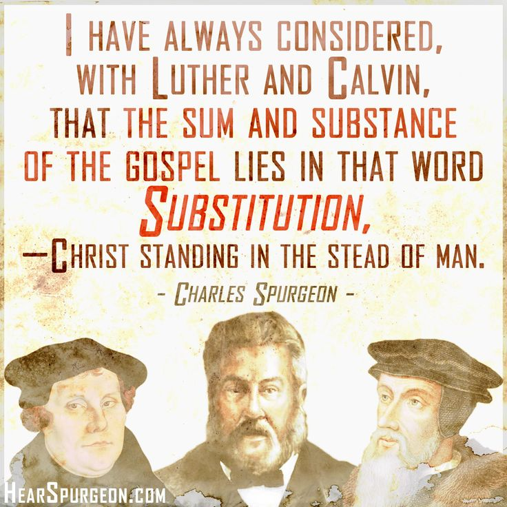 "I love the vital truths these men fought for! ""For Christ"