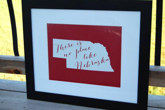 Husker Man Cave Ideas : Husker nebraska wedding gift personalized custom by