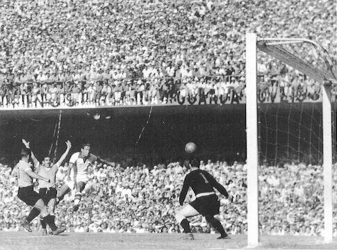 La final entre Brasil y Uruguay