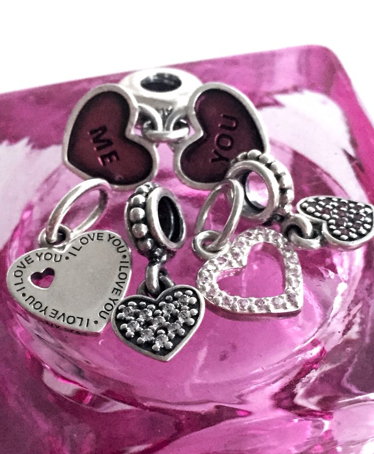 162 best Pandora 2015 Valentines Day Collection images on ...