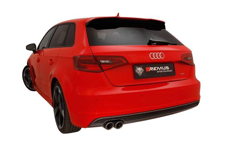 Sportowe końcówki wydechu REMUS INNOVATION dla Audi A3.  Dostępne w wielu wzorach i wykonane z najwyższej jakości materiałów, w tym włókna węglowego, odmienią wygląd Twojego Audi diametralnie!  Remus Polska http://www.remus-polska.pl/