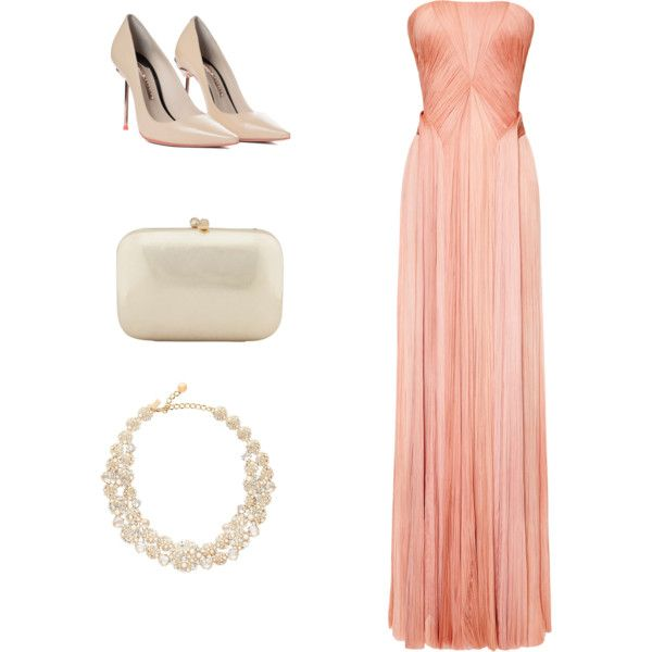 Princess of pearls by pchumley on Polyvore featuring Zac Posen, Sophia Webster, Serpui and Kate Spade