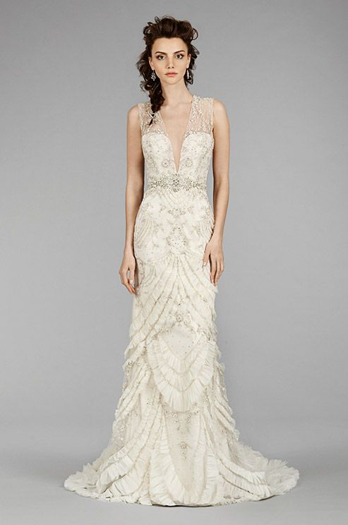 Such A Beautiful Wedding Dress With Amazing Details Lazaro Fall 2017