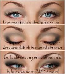 make up for hooded eyes before and after - Google Search