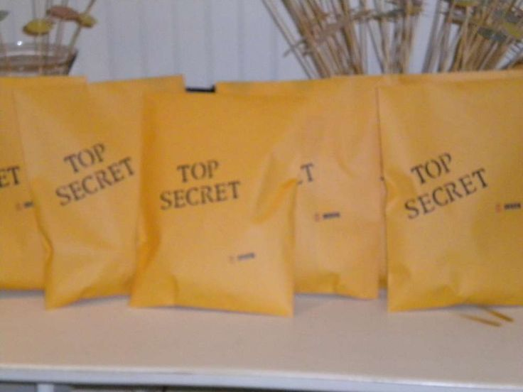 Secret Agents & Spys Birthday Party Ideas | Photo 7 of 9 | Catch My Party