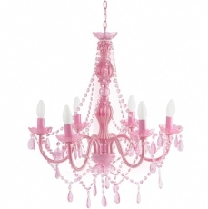 Pink Chandelier..an accessory