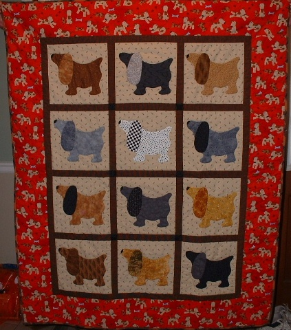 17 Best Images About Dog Quilt On Pinterest Hot Dogs