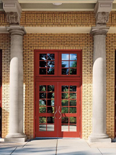 Marvin commercial doors at the St. Louis Zoo & 44 best Doors images on Pinterest | Patio doors Marvin doors and A ...