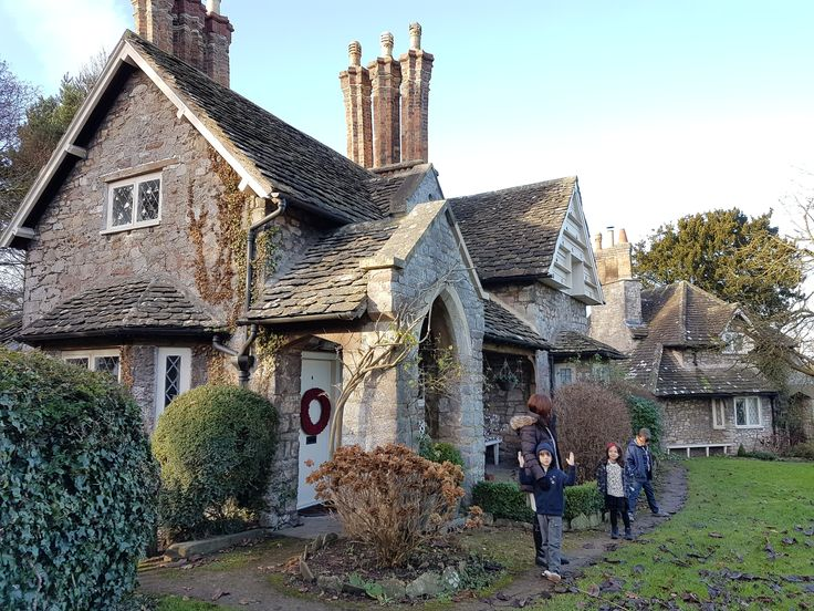 Blaise Hamlet: A collection of nine circa 1811 cottages in Bristol, England.