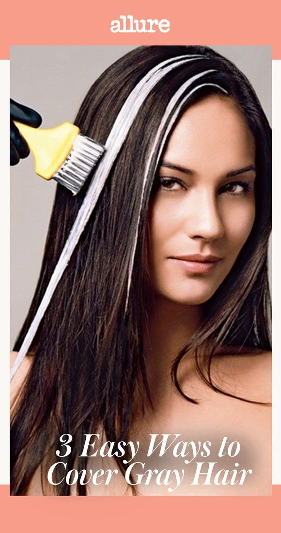 Three Easy And Low Maintenance Ways To Cover Gray Hair With