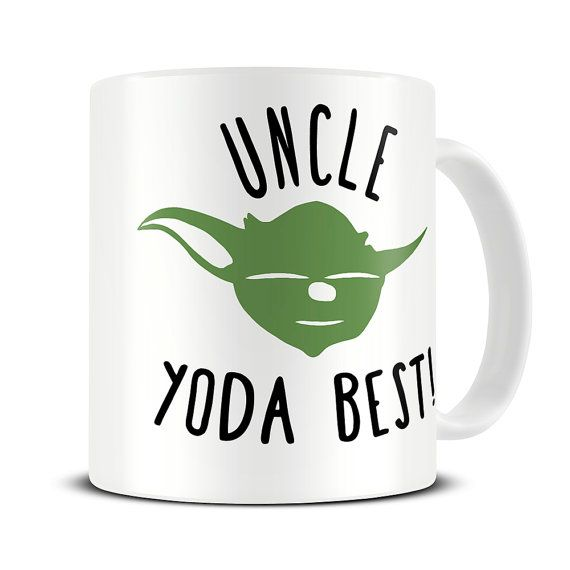 Personalized Yoda Best Mug - gift for uncle, cousin, daughter, son, brother, sister, boss, teacher gifts, funny personalised mug -  MG378