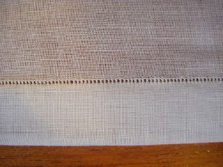 A Most Peculiar Mademoiselle: Hemstitching a Collar