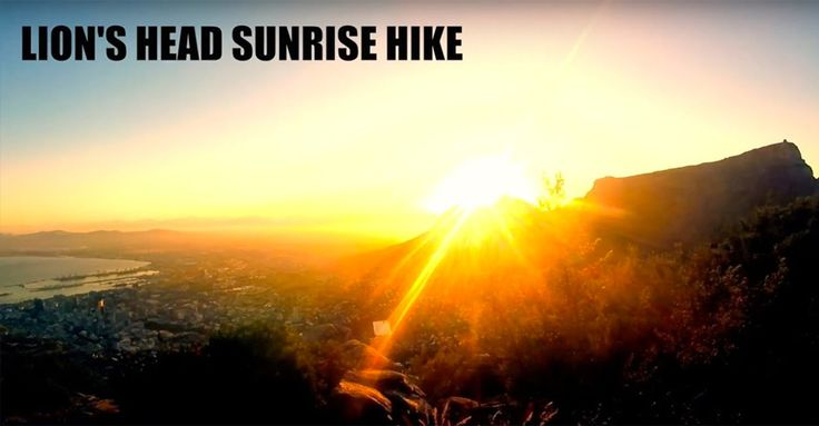 Watch Sensational Lion's Head Sunrise Hike + Hiking Safety Tips for Travellers