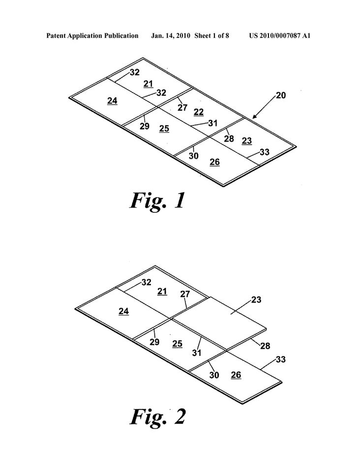 Six fold game board and method of folding game board - diagram, schematic, and image 02