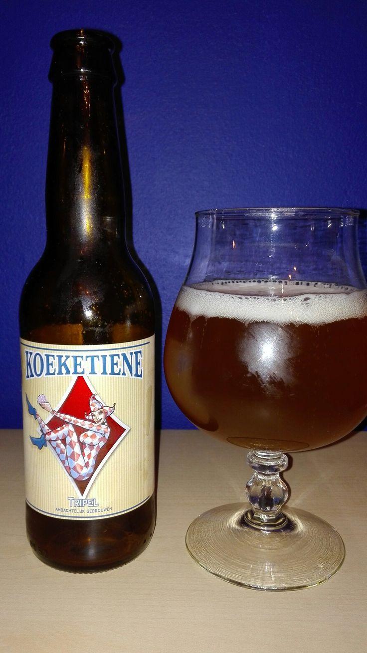 Koeketiene Tripel - Brouwerij Maenhout, Pittem. #belgianbeer #bierebelge
