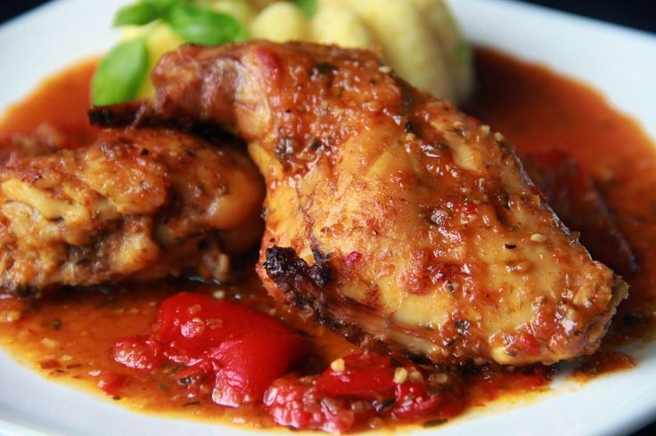 V kuchyni vždy otevřeno ...: Králík s pikantní omáčkou alla Piri piri