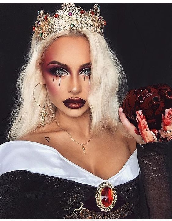 50 maquiagem bonita e original procura Halloween   – Make-up ideen
