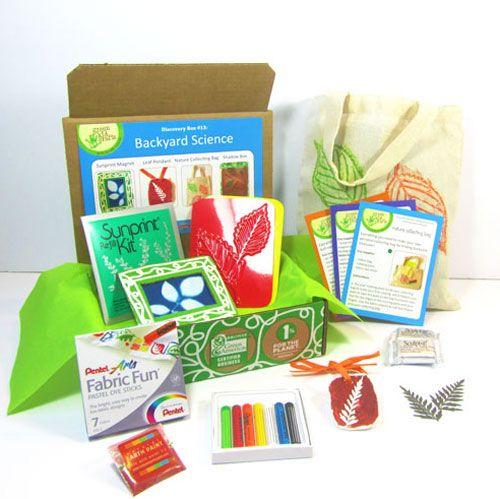 Die Green Kid Crafts Backyard Science-Entdeckungsbox macht das Beste aus dem …   – Backyard Science Activities