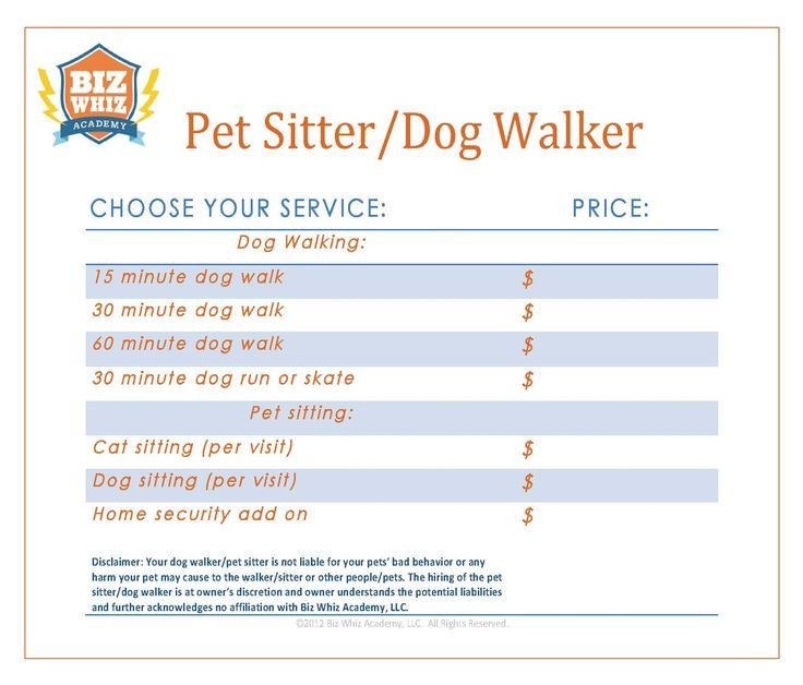 20 Pet Sitting Business Plan Template In 2020 Pet Sitting