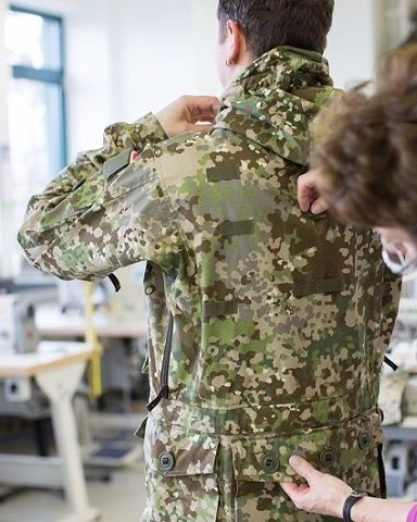 New German Army camo pattern Multitarn for special forces.