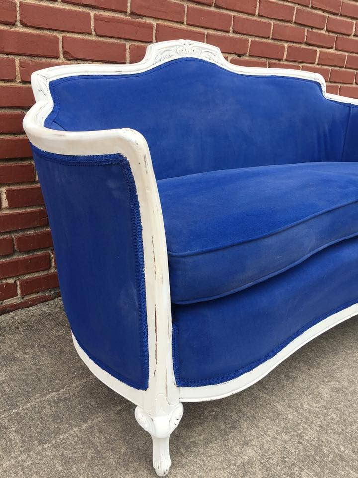 Junk Gypsy Settee Makeover by Farm Girl