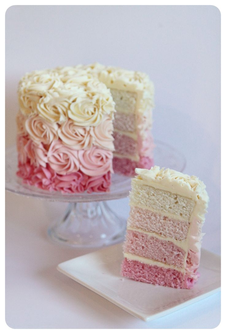 I have been wanting to make an 'Ombre' cake for such a long time and thought Mothers day would be a great opportunity to make something awe...