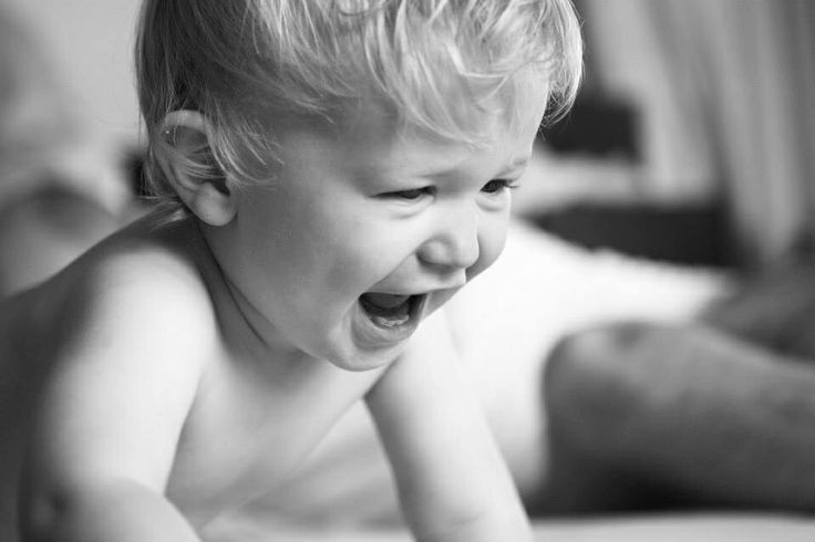 Laughter. Baby