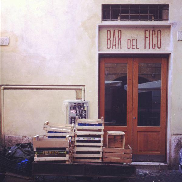 Bar del Fico Rome (Roma, Italy) Art Print