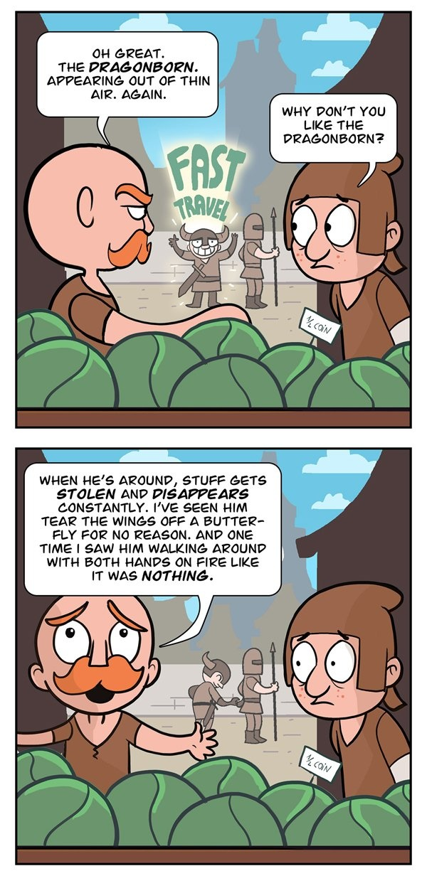 Why the Dragonbprn is hated by everyone in Skyrim!