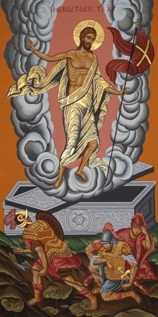 Adamantia Karatza  .Ressurection of Jesus Christ.