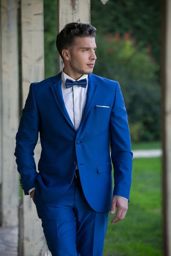 0165c76233ba Μπλε γαμπριάτικο κοστούμι - new collection 2019 - Status Men s Fashion.  Δείτε τη στο www.GamosPortal.gr  groom  weddingsuit  gamosportal