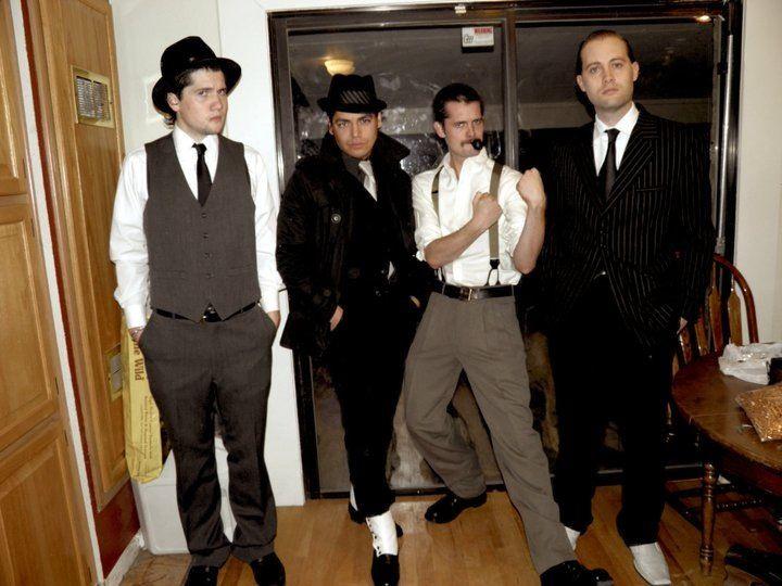 The boys circa 1920's party