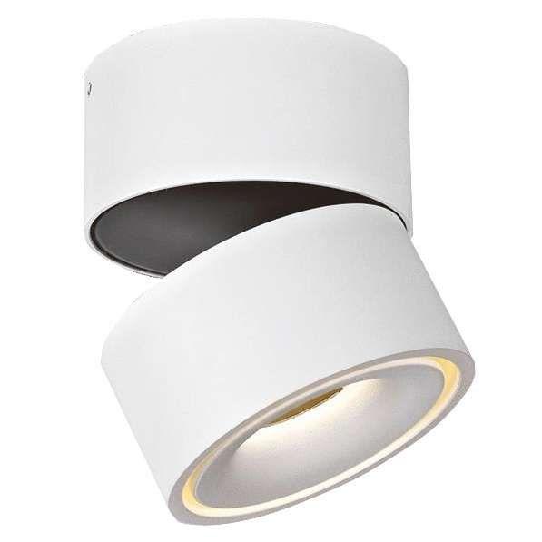 Natynkowa LAMPA sufitowa BROKEN MSTC-05411010 Mistic metalowa OPRAWA reflektorowa LED 9,3W biały