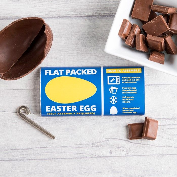 Personalised Chocolate Bar – Flat Packed Easter Egg | GettingPersonal.co.uk