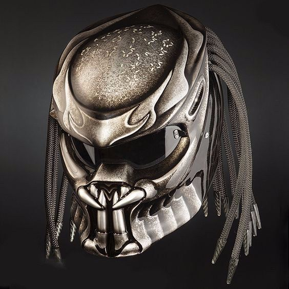 PROMO FREE SHIPPING US ONLY ANGRY PREDATOR HELMET DOT APPROVED #CELLOS