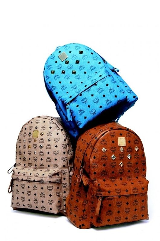 These MCM backpacks make the perfect accessory for nearly every occasion. Fashionable and functional, these bags are a must-have for any fashion designer. I can find it difficult to fit everything that I need for a day at school or work into a purse, and these backpacks would provide enough storage space for me to house all of my designing necessities while still managing to look stylish.