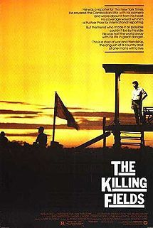 The Killing Fields, an amazing film that opens your eyes to the horror of the Khmer Rouge regime in Cambodia.