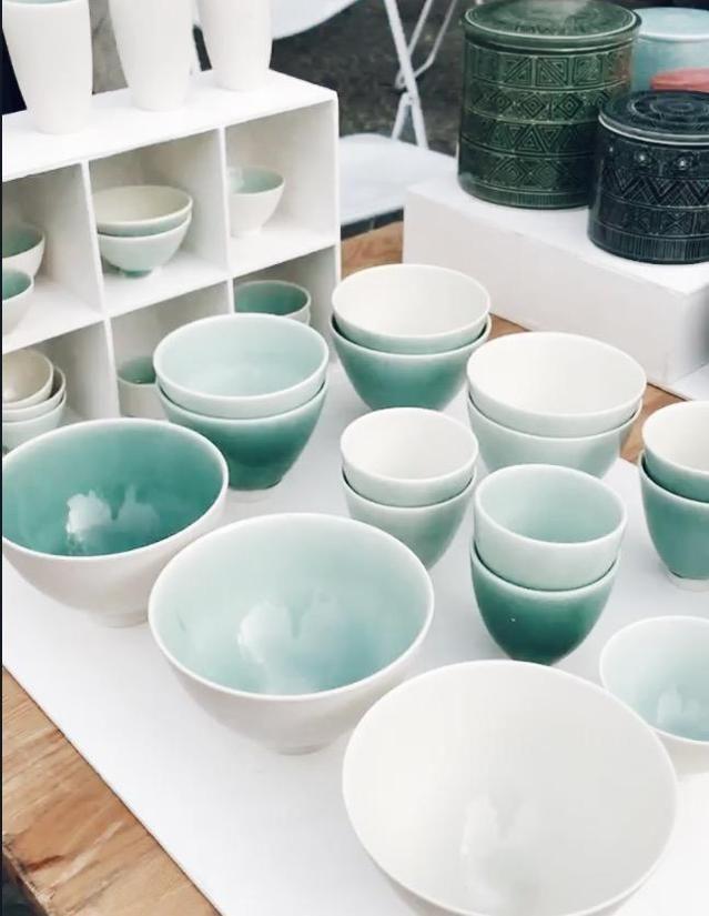 Samstag ist Markttag🤗 #markt #geschirr #küche #keramik