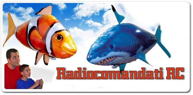 air swimmer Pesci volanti radiocomandati