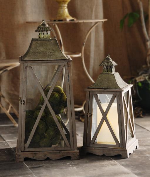 Fanal porta vela  www.amoble.cl