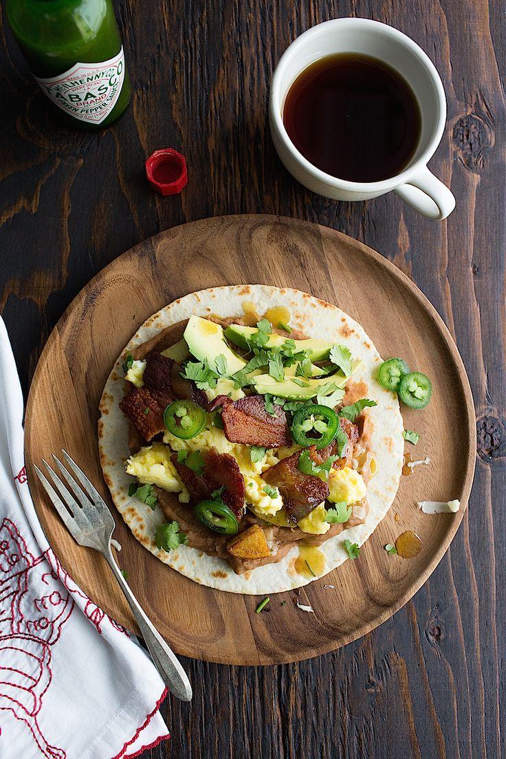 Hangover Breakfast Tacos - Chez Us
