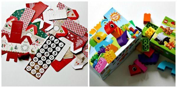 Lego duplo adventskalender anleitung und ideen adventskalender diy - Adventskalender duplo ...