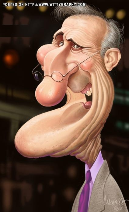 #caricature Actor James Cromwell