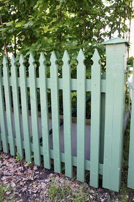 staket snickarglädje trä inspiration trädgård