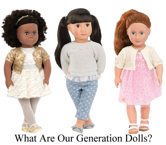 What are Our Generation #Dolls